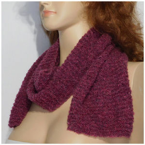 Accessories - Scarf, multiple wrap around styles. Knit, soft